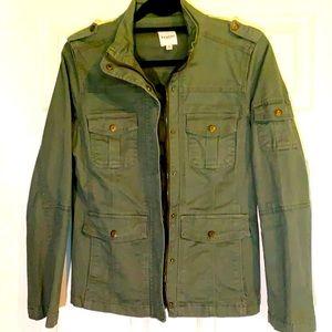 Kensie Army Green Jean Jacket